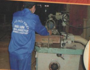 Dây chuyền sản xuất gỗ nhập khẩu từ Đài Loan