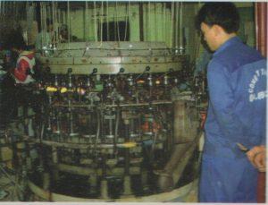Dây chuyền sản xuất ống thủy tinh công suất 15 triệu sản phẩm 1 tháng